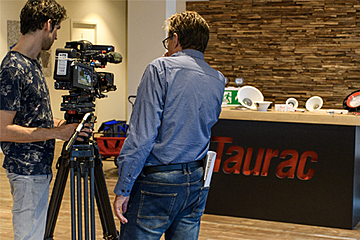 Taurac lighting bij Raca Group BV in RTL-Z programma How It's Done 4